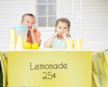Lemonade stand 101: Make money like a kid again