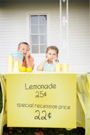 Lemonade Stand Recession