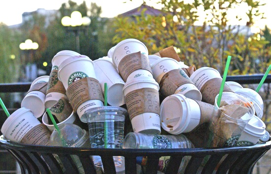 "Starbucks ""disposable"" cups"