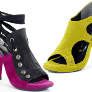 Sustainable fashion with edge: Warrior princess Bahar Shahpar creates vegan heels for summer 2010