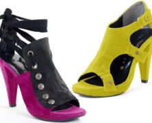 Sustainable fashion with edge: Warrior princess Bahar Shahpar creates vegan heels for summer 2010