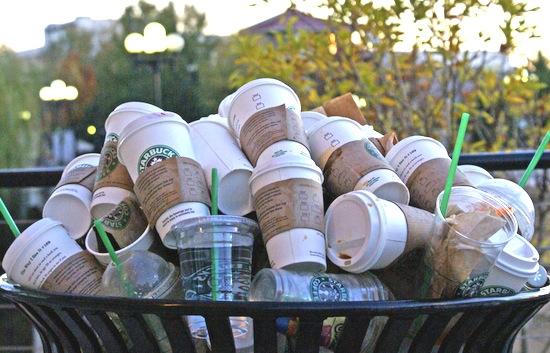 "Starbucks ""disposable"" cups"